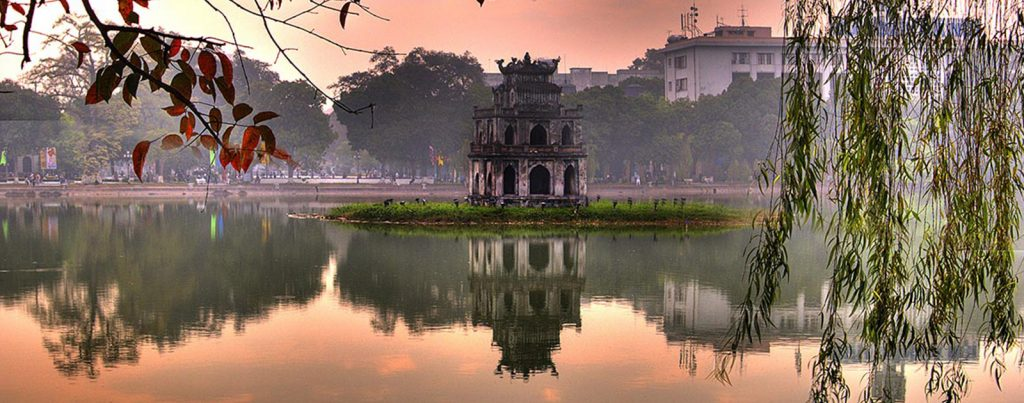 Hoan Kiem Lake – a morning view